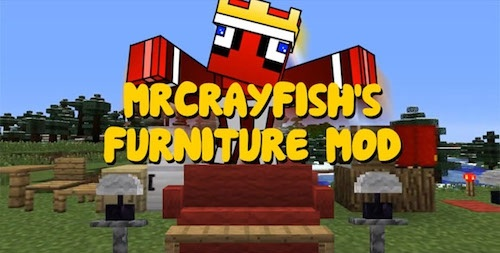 Mrcrayfish S Furniture 1 8 9 1 8 1 7 10 Minecraft