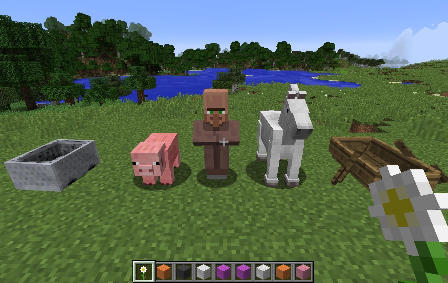 Wearable Backpacks Mod para Minecraft 1.11.2