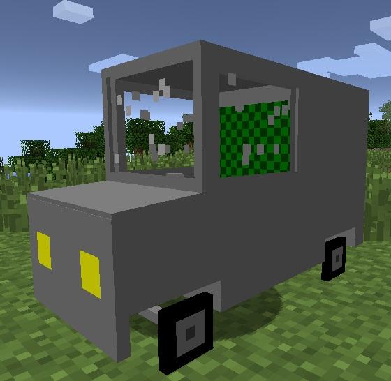 Minecraft Mod Car And Drives