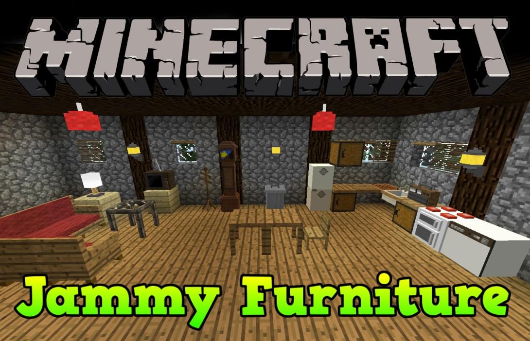 Jammy Furniture Reborn Mod 1 7 10 Minecraft Mods