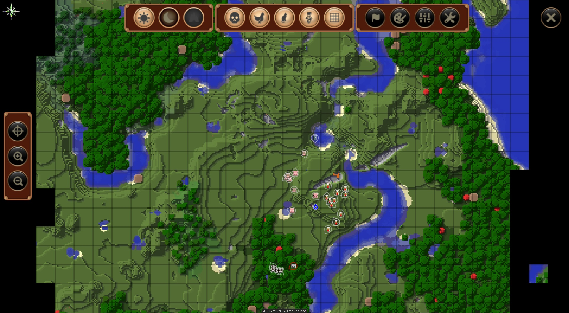 Mapa do Mod JourneyMap